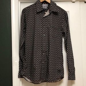 Lucky Brand Long Sleeve Vintage Style Shirt